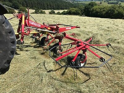 JF Stoll Z-555 DH Hay Tedder Spreader Tractor Mounted 2013