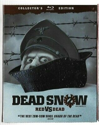 New Sealed Blu-Ray  - DEAD SNOW RED VS DEAD Colelctor's Edition  Also In  French