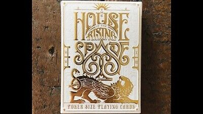 The House of the Rising Spade (Faro) Playing Cards - Magic Tricks