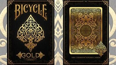 Bicycle Gold Deck by US Playing Cards - Magic Tricks