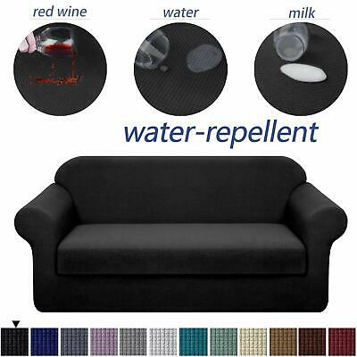 Granbest Stretch Sofa Slipcovers 3 Cushion Couch Covers Water-Repellent Pet Fu..