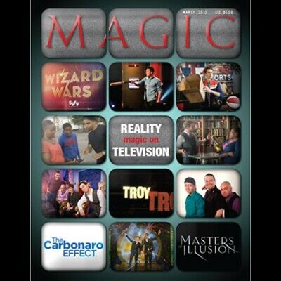 "Magic Magazine ""Magic on Reality TV"" March 2015 - Book - Magic Tricks"