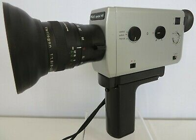 Braun Nizo Spezial 148 Super 8 Movie Camera with Case. Not Film Tested.