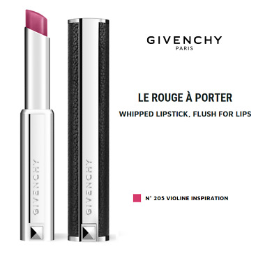 Givenchy Le Rouge A Porter Whipped Lipstick - #  205 Violine Inspiration 2.2g