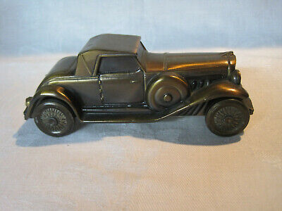Vintage metal still bank Duesenberg 1930 car bank by Banthrico