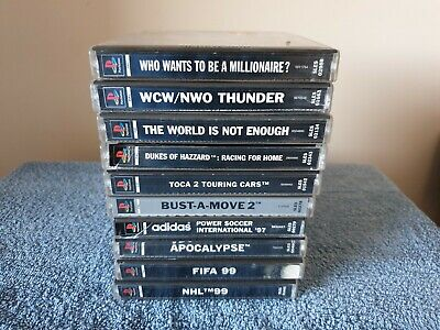 PS1 10 GAME BUNDLE #4. Sony Playstation 1 Games. PS1. PAL.