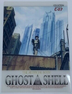 1995 Ghost in the Shell JPP/AMADA Clear Chromium / Holochrome Chase Card C-07