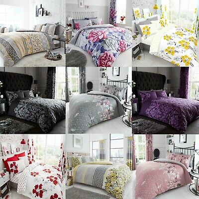Duvet Cover with Pillow Case Quilt Cover Bedding Set Single/Double/King/S king