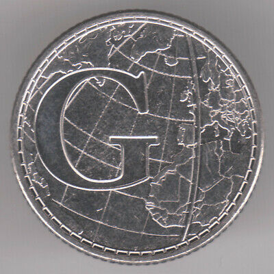 United Kingdom 10p Pence 2019 Nickel Plated Steel Coin - G for Greenwich