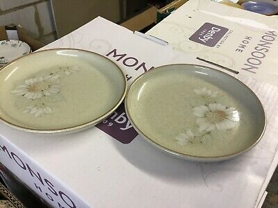 Denby Daybreak Tea Plates X 2 Approx 6 Inches (more)