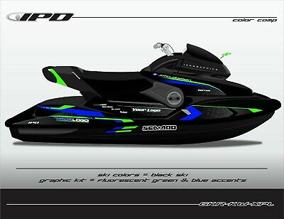 IPD KW Design Graphic Kit for SeaDoo XP Limited