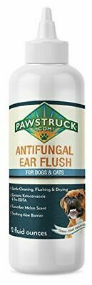 Pawstruck Anti-Fungal Ear & Skin Flush #1 Dog Ear Infection Treatment – Solves I