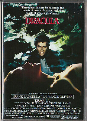 Dracula 1979 Dvd=Hd Trans=1979=Frank Langella=Region 0 Inc Australia=Like New