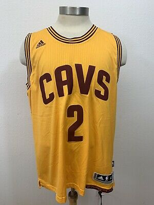 Adidas Cleveland Cavaliers  CAVS Kyrie Irving NBA Jersey Size XL Length +2