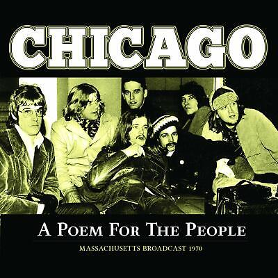 Chicago - POEM FOR THE PEOPLE - Live CD - Massachusetts 1970