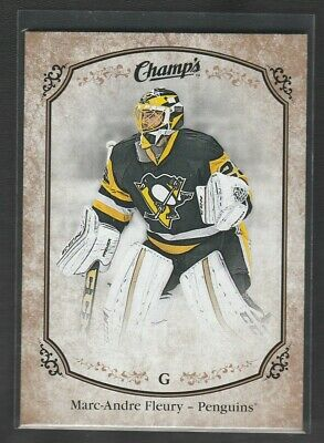 2015-16 Upper Deck Champ's Marc-Andre Fleury Gold Variant Front SP #213