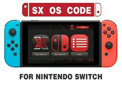SX OS License Key for Nintendo Switch Team Xecuter -⚡ Instant Delivery⚡