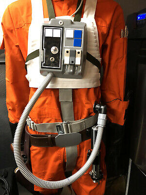 Star Wars Prop X-Wing Pilot Chest Box hose attachment Magnetic