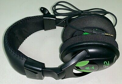 Turtle Beach Black/Green Gaming Headset for Xbox 360, PS3, PS4, PC No Microphone