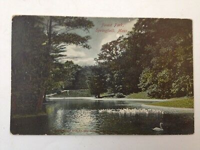 Old Postcard ~ 1907 Forest Park, Springfield, MA