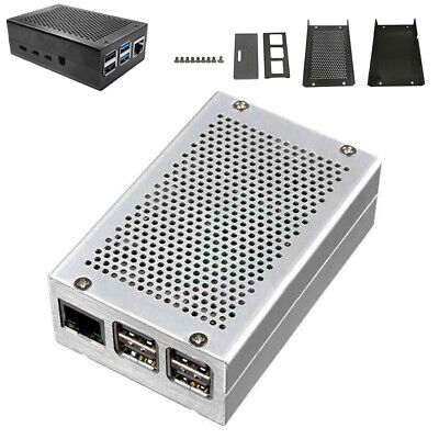 Heat Dissipation Aluminum Alloy Protective Case Enclosure Raspberry Pi 4