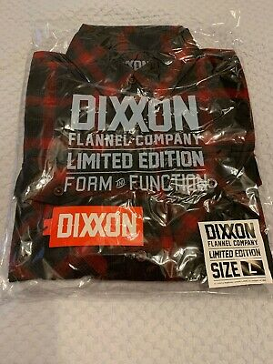 DIXXON FLANNEL-Limited Edition-SNAP ON Men's Large