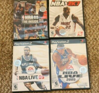 4 NBA Live Sony PlayStation 2 BASKETBALL LOT