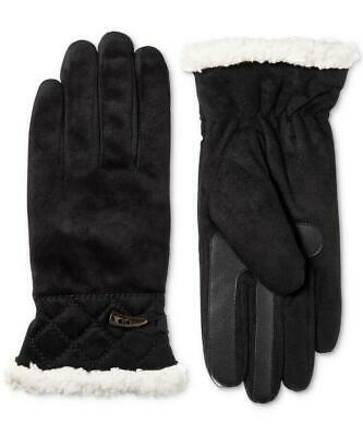 Isotoner Womens SmartDRI Microsuede Touchscreen Gloves L/XL