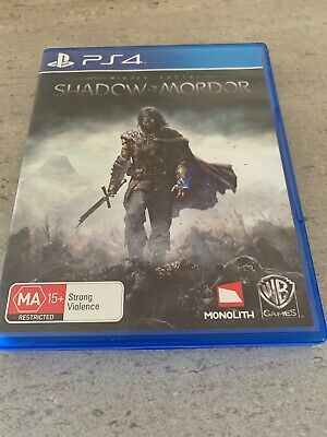 Middle Earth SHADOW OF MORDOR Playstation 4 🇦🇺 Seller Free And Fast Postage