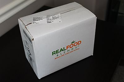 Real Food Blends (turkey, sweet potato, peach) flavor - box of 12