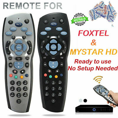 Aussie Foxtel Remote compatible with iQ1iQ2 iQ3 IQ4 MyStar MyStar2 100% Genuine