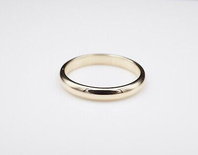 Cartier Wedding Band.Mens Cartier 1895 18k Gold Classic Wedding Band Ring Size 12 3 5mm 970 Rg1952