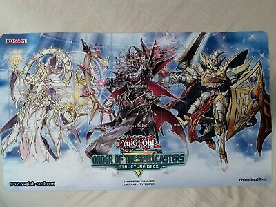 Yu-Gi-Oh! Order of the Spellcaster Structure Playmat Side Event NEW Endymion