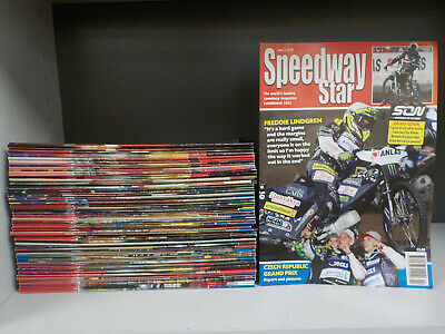 Speedway Star - 76 Magazines Collection! (ID:5359)