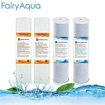 1 Micron Sediment Coconut Carbon Replacement Water Filter Cartridges 2 Set