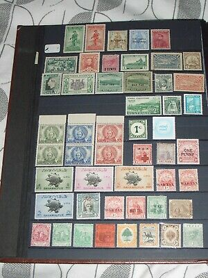 British commonwealth stamps mixture all mint