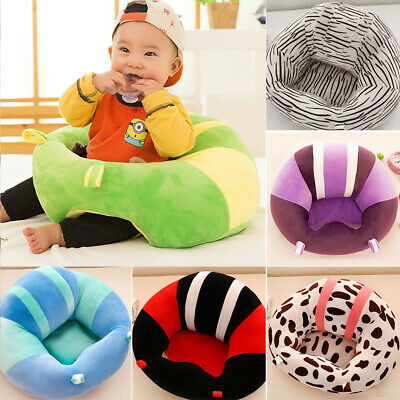 Safety Baby Support Seat Learn Sit Soft Chair Cushion Sofa Plush Pillow Toys