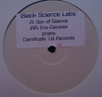 Black Science Labs - Son Of Silence / Exo-Genesis (Vinyl)