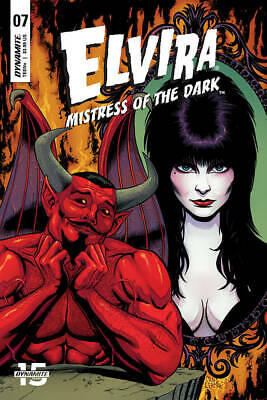Elvira Mistress Of Dark #7 Cover B Cermak - Dynamite - Release Date 17/07/19