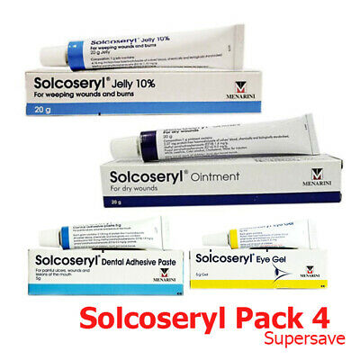 SOLCOSERYL JELLY 10% Best For Weeping Wounds Burns Treating Ulcers