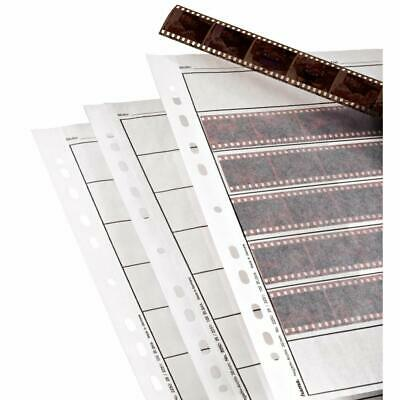 Hama 2250 Negative File Storage Sleeves, each holding 7 strips of 6 - Pack of 25