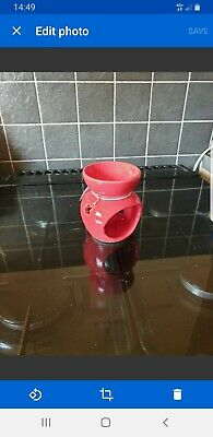Ceramic oil burner Red 4""
