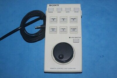 SONY Remote Control Unit - SVRM-100 - Beta Cam Wired Remote - Tested & Working!