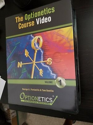 Optionetics Course Video Volume 1 Stock Market Option Trading Vhs Format