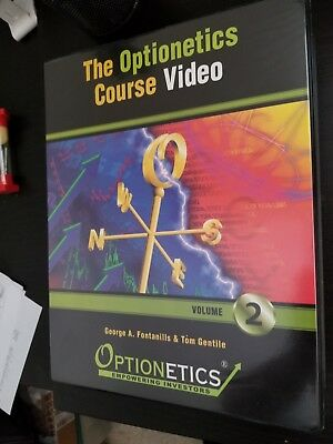 Optionetics Course Video Volume 2 Stock Market Option Trading Vhs Format