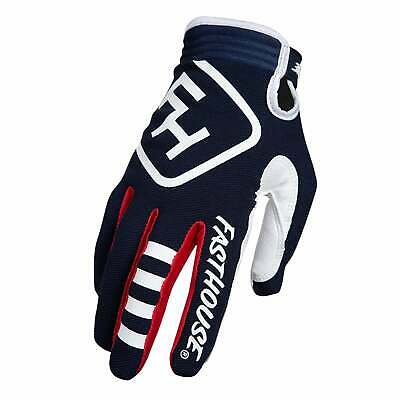 Fasthouse Speed Style Patriot Mens Gloves Mx Glove - Navy All Sizes