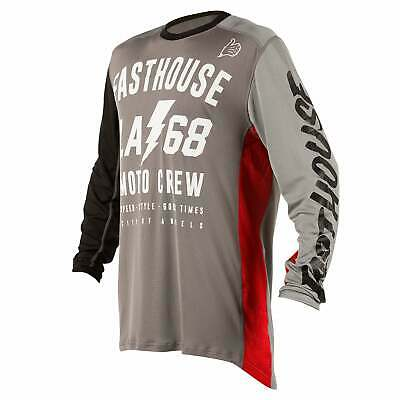 Fasthouse La68 L1 Air Cooled Mens Jersey Moto - Grey All Sizes