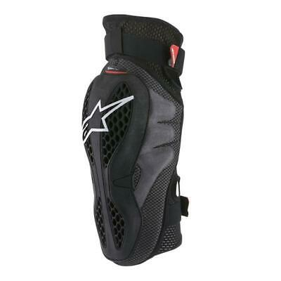 Alpinestars Sequence Mens Body Armour Knee Pads - Black Red All Sizes