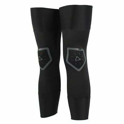 Leatt Mx And Enduro Pair Mens Body Armour Knee Brace Sleeve - Black All Sizes