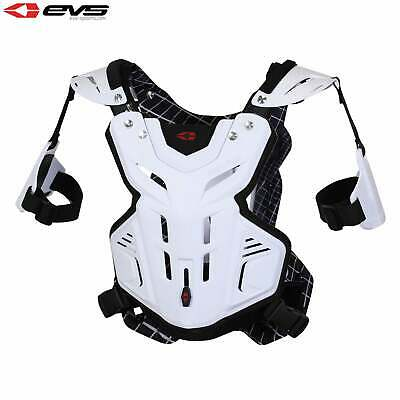 Evs Protection F2 Chest Youth Boys Body Armour - White One Size
